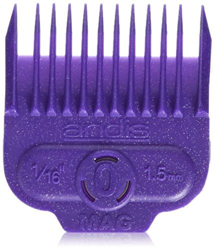 Andis Magnetic Clipper Comb Size 0 andis nano magnetic guard comb guide 0 66430 fits andis