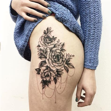 bold flower tattoos celebrate the delicate strength of