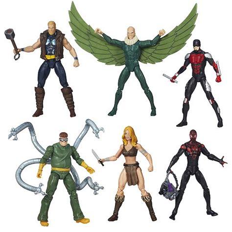 Pajangan Figure Marvel Set 6 set of 6 marvel universe infinite figure series 6