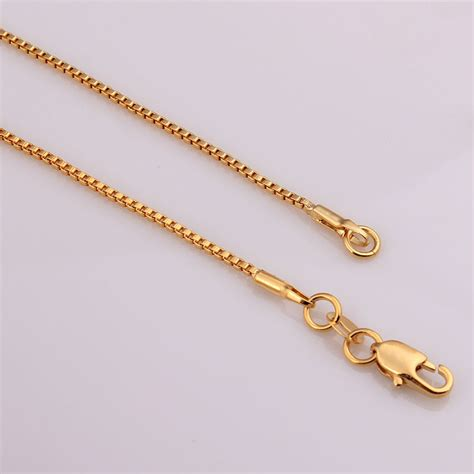 chain for jewelry wholesale aliexpress buy gold chain box necklace bridesmaid