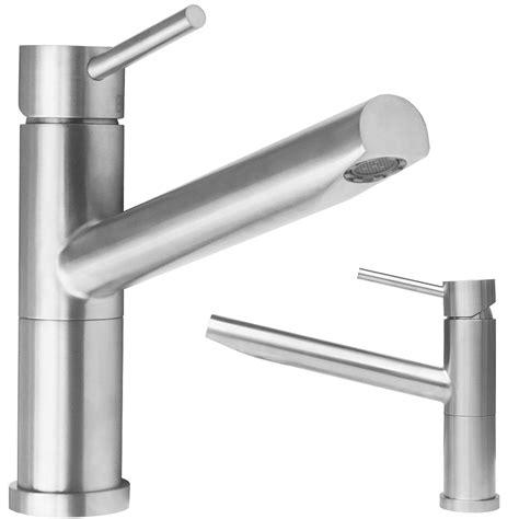 rubinetti acciaio miscelatori lavello cucina in acciaio inox arredobagno news