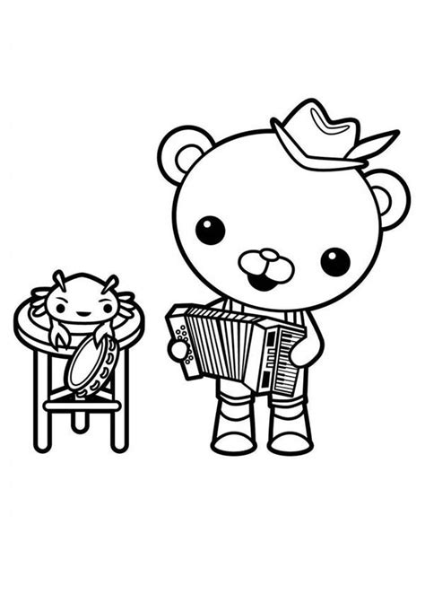 octonauts captain barnacles coloring pages www imgkid
