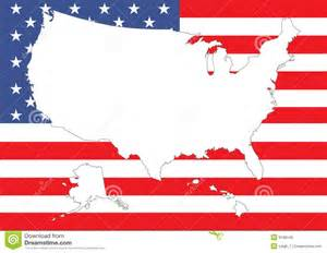 us flag in us map map of us with flag royalty free stock image image 9198146