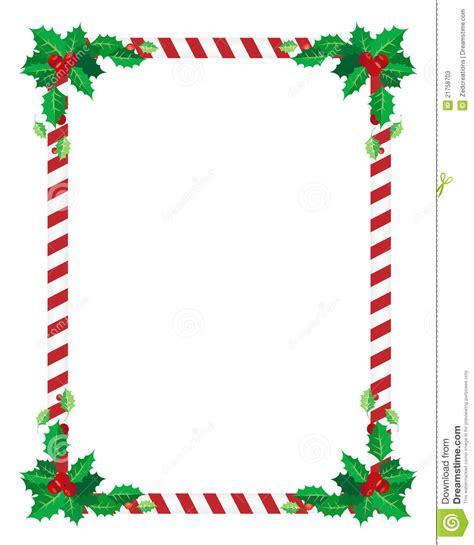 christmas border stock vector image of edge festive