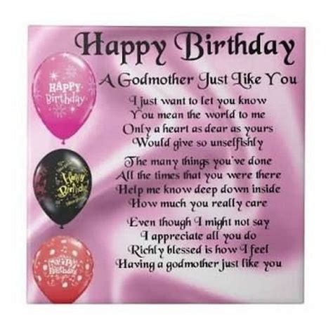 Godmother Cards Birthday The 60 Best Happy Birthday Godmother Quotes Wishesgreeting