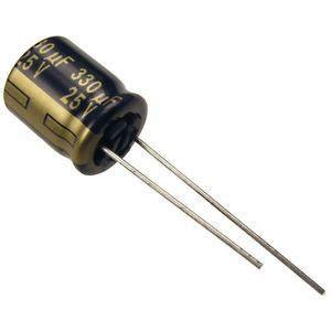 Sale Elko 470uf 25v Fc Series Panasonic panasonic 330uf 25v low esr capacitor for esc noise