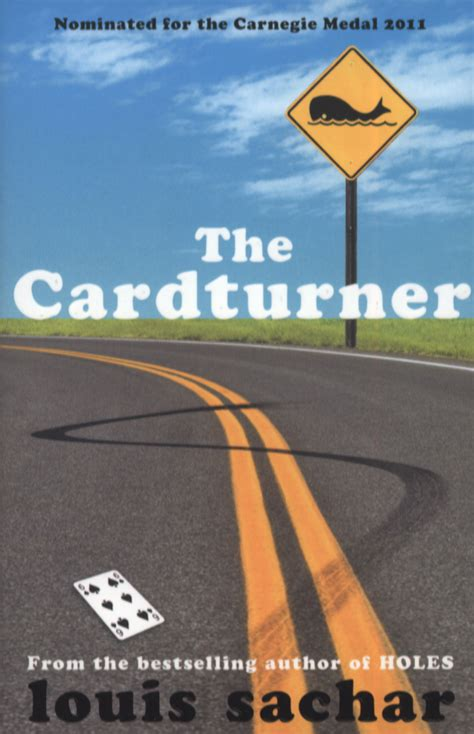 the cardturner by sachar louis 9781408808511 brownsbfs