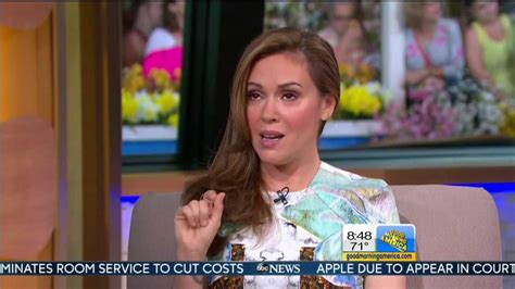 we all knew barbara gets snippy with elizabeth vargas alyssa milano elizabeth vargas good morning america doovi