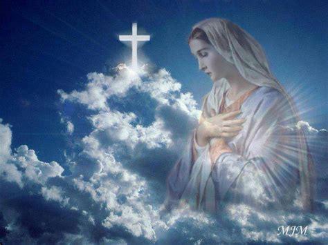 imagenes de jesus y maria en el cielo dia de la virgen maria p dennis doren l c