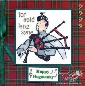 hogmanay greetings card