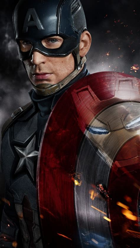 wallpaper captain america for android captain america civil war chris evans wallpapers hd