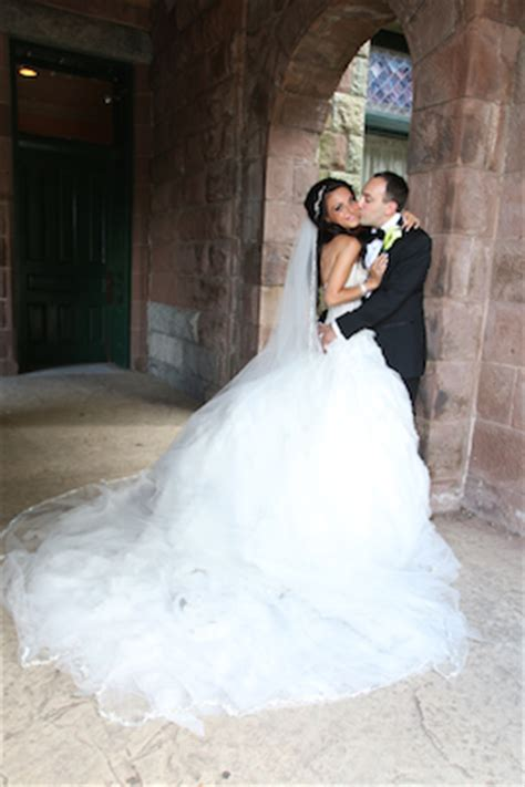 Ines Di Santo, Custom   Real Wedding Inspiration   PreOwned Wedding Dresses