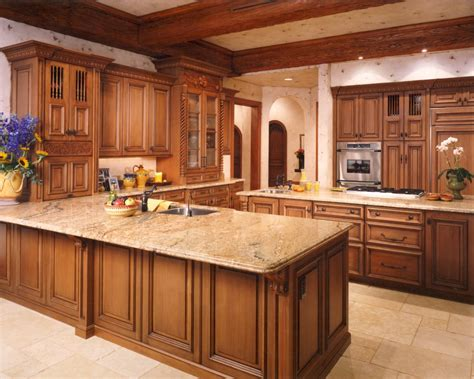 Types Of Laminate Kitchen Cabinets | types of countertops kitchen contemporary with flooring