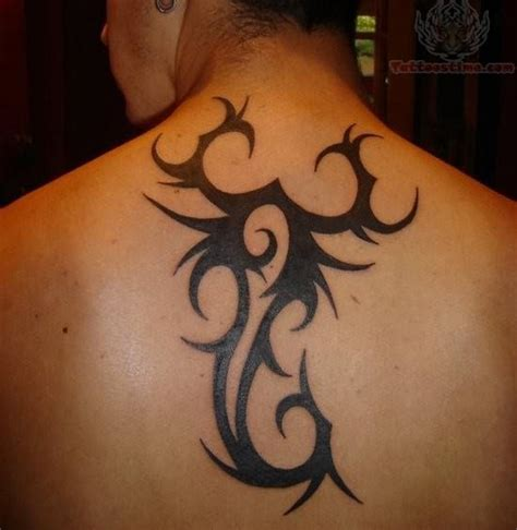scorpion tribal tattoo tribal style scorpion on back