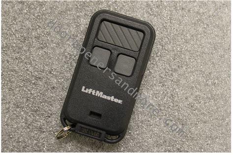 Liftmaster Garage Door Opener Program How To Program Liftmaster 890max Mini Keychain Garage Door Opener Remote Ppi