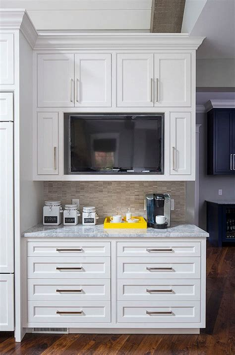 tv kitchen cabinet 25 best ideas about tv in kitchen on pinterest kitchen