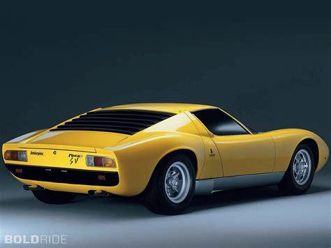 1966 Lamborghini Miura 1966 Bertone Lamborghini Miura Supercar Supercars Classic