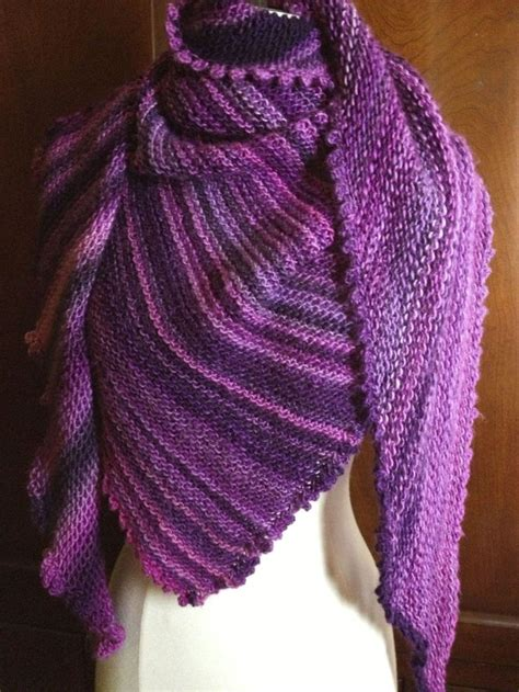 triangle loom pattern picot triangle shawl check out this beautiful shawl made