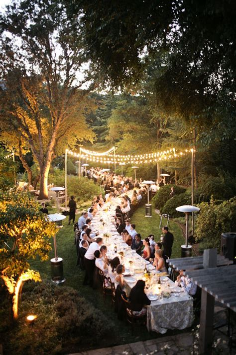 Backyard Wedding Catering by 10 Steps To A Successful Backyard Wedding