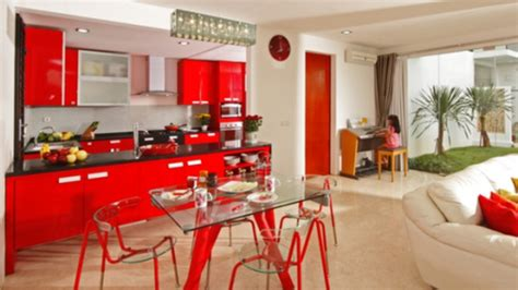 kitchen decorating ideas with red accents very colorful amazing red kitchen decor ideas design