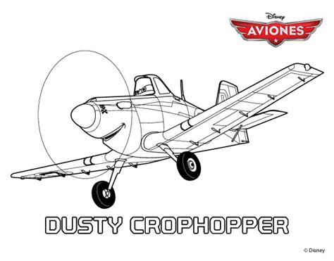 free dusty crophopper coloring pages