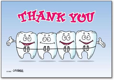 thank you cards templates with teeth teeth with braces clipart 12