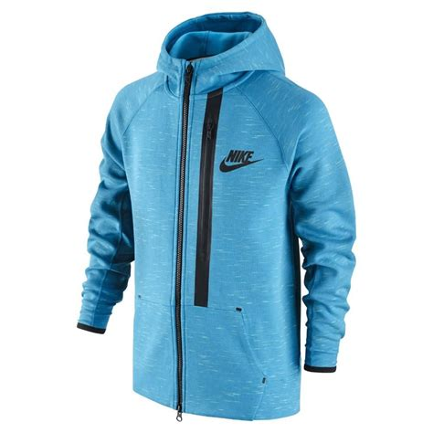 light blue nike hoodie nike hoodie tech fleece fz light blue lacquer black