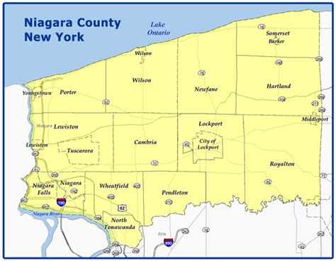County Property Records Ny On Line Mapping System For Niagara County