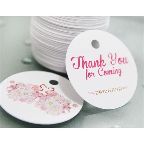 desain kartu ucapan di souvenir pernikahan miyoku thank youcard personalized souvenir jakarta barat