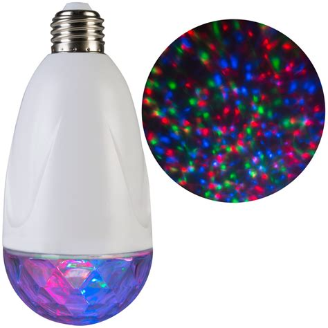 Multicolor Led Light Bulb Shop Lightshow Projection Light Bulb Twinkling Multicolor Led Kaleidoscope Indoor