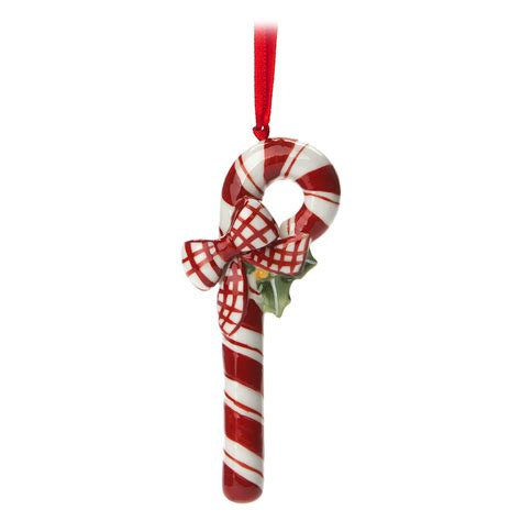 v b christmas tree ornament candy cane