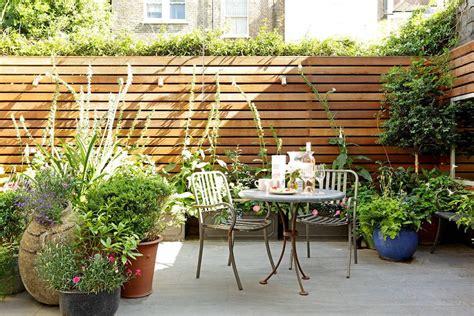 para patio patios y jardines peque 241 os dise 241 o con macetas