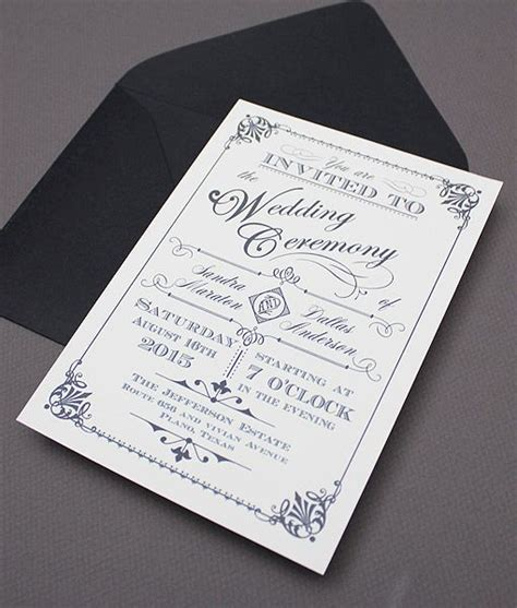free printable stationary you can type 16 best vintage type wedding invitations images on