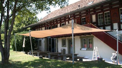 beschattung terrasse eleganter sonnenschutz f 252 r ihre terrasse sitrag sonnensegel