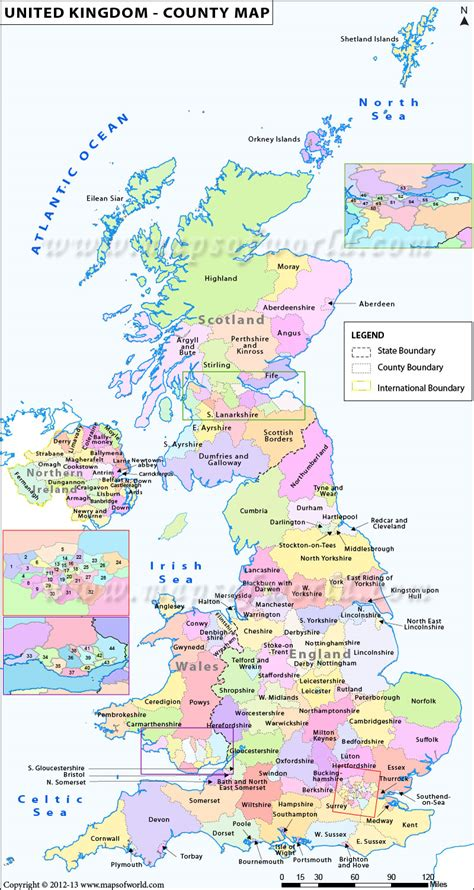 printable maps uk counties united kingdom of great britain and northern ireland