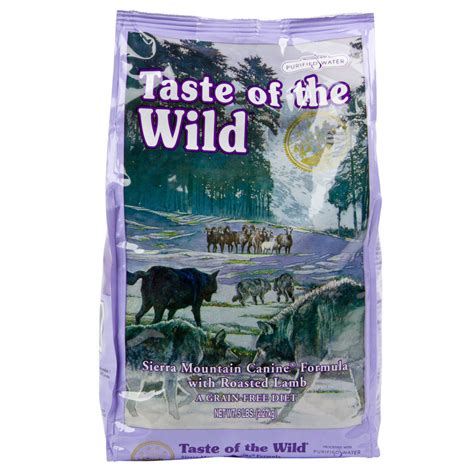 call of the puppy food taste of the mountain w roasted 30 lb food 934884