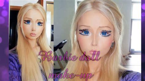 tutorial makeup valeria lukyanova valeria lukyanova tutorial barbie doll make up メイクアップ 化妝