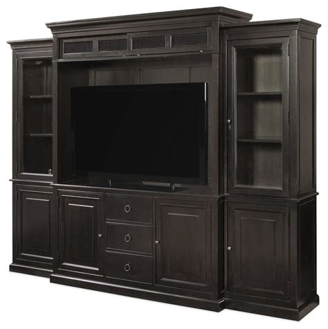 maple wood tv cabinet wood entertainment wall units 4 pc florenza collection