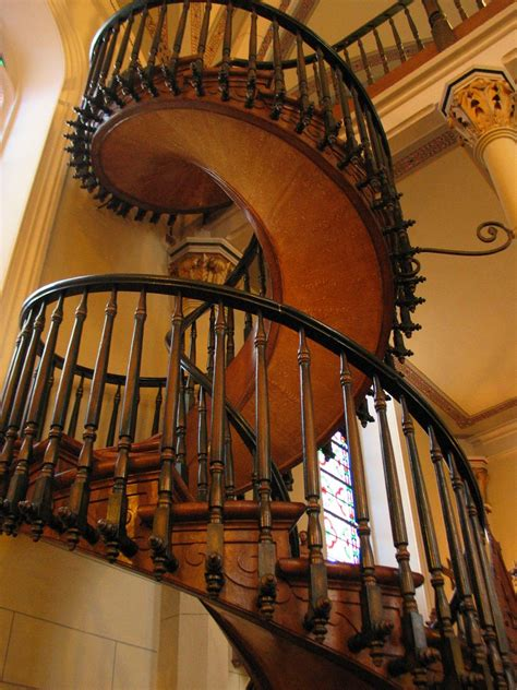 Spiral Staircase by Infallible Catholic Miraculous Staircase Of Saint Joseph