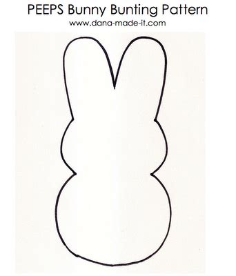 bunny peeps bunting favecrafts com