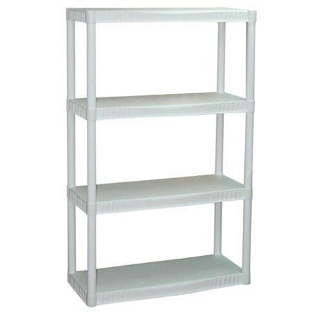 walmart white shelves plano 4 shelf storage unit white walmart