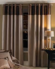 Color Block Drapery Eyelet Curtains Homes And Garden Journal