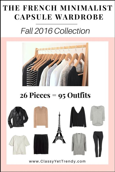 minimalist capsule wardrobe the french minimalist capsule wardrobe e book fall 2016