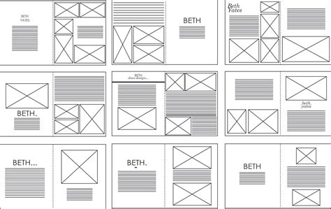 Sophie Wilson Design Practice Indesign Layouts Vectored Layouting Pinterest Grid Indesign Grid Template