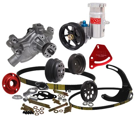 krc power steering diagram krc chevy crate serpentine pulley kit w denso mount kit