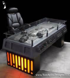 Studio Decor Display Case Star Wars Han Solo Carbonite Desk Custom Furniture Tom