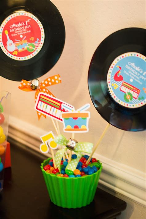 music themed birthday decorations baby jam musical themed 1st birthday party