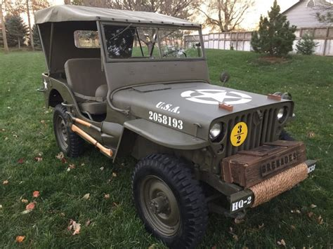 Willys Jeep For Sale Jeep 1952 Willys M38 For Sale