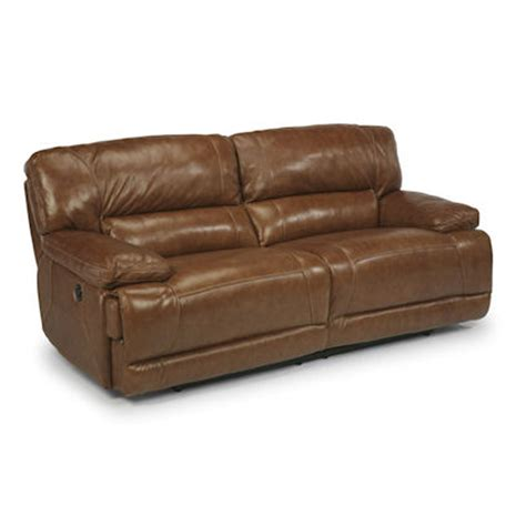 Discount Recliner Sofas Flexsteel 1237 62p Fleet Leather Power Reclining