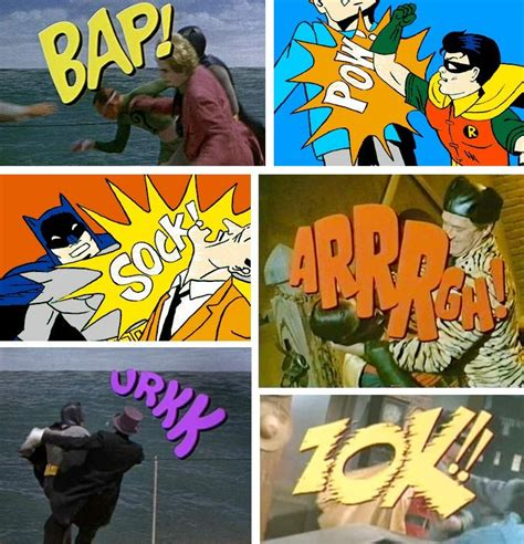 Visual Onomatopoeia by Onomatopoeia At Its Visual Best From The Adam West Quot Batman
